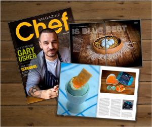 Clare Rowson Fairburn's Chef Magazine Coverage